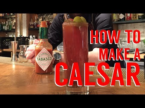 How to Make a Caesar Cocktail (Spicy)