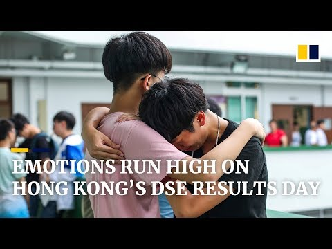 On Hong Kong's DSE Exam Results Day, Emotions Run High
