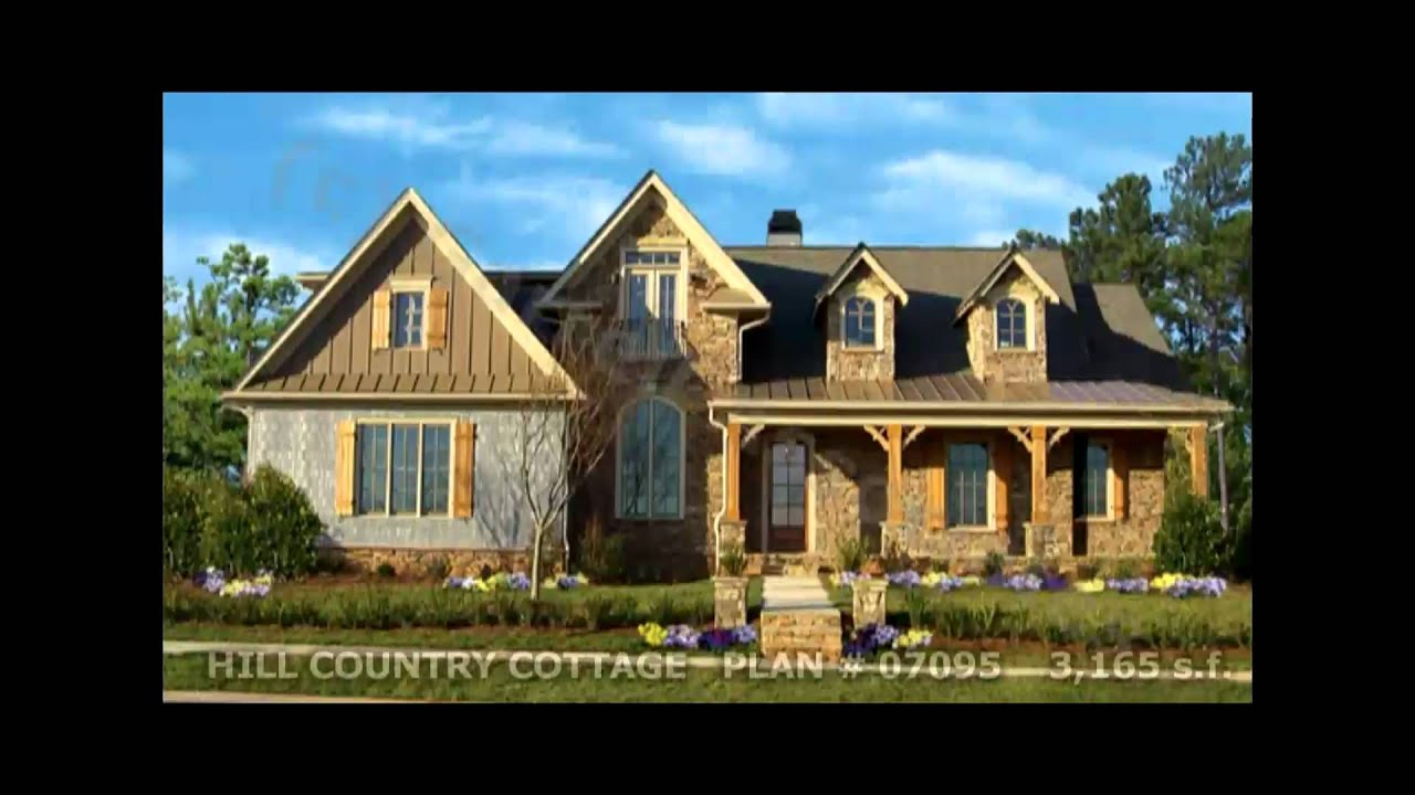 Country Farmhouse Southern House Plans By Garrell