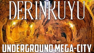 Derinkuyu Underground City - Ancient Mega City
