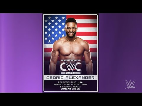 Cedric Alexander 1st WWE Theme Song For 30 minutes - Won't Let Go