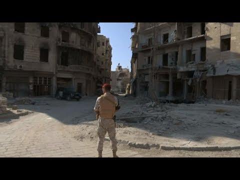 Syrien in Trümmern: So präsentiert die syrische Regierung Aleppo