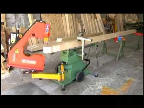 Production Methods: An Articulated Bandsaw!