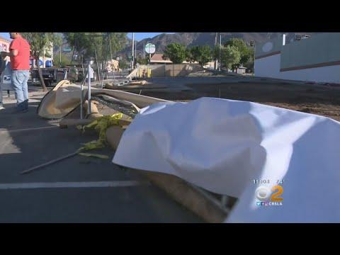 Santa Ana Winds Cause Major Outages Across LA County