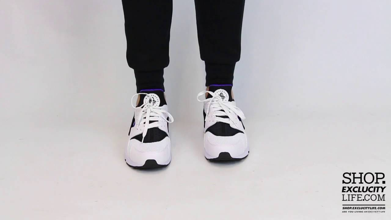 dc41322d5987d Nike Huarache Run - Hyper Grape - On-feet Video at Exclucity - YouTube