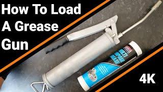 The correct way t๐ use a grease gun - How to load a MANUAL GREASE GUN
