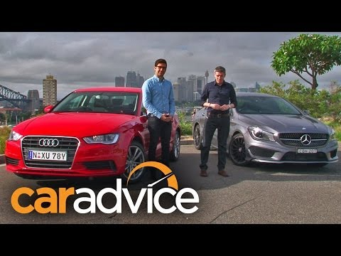 Audi A3 sedan v Mercedes-Benz CLA-Class Comparison