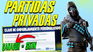 🔴PRIVATE PARTIES WITH CHILE SUBS (WINNER-SKIN) #FORTNITE #DIRECTO #PRIVADAS