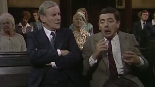 Paying Attention at Church | Mr. Bean Official