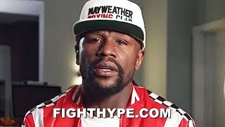 FLOYD MAYWEATHER REACTS TO ERROL SPENCE SAYING HE'D BEAT HIM; AS REAL AS IT GETS ON MASTERING BOXING