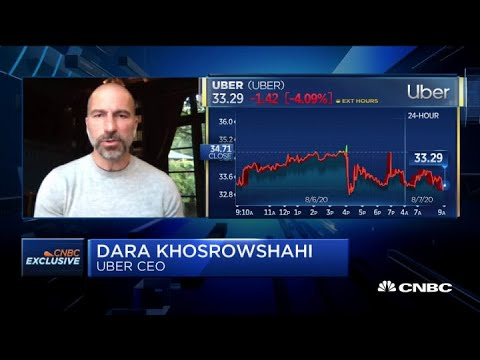 Uber CEO Dara Khosrowshahi on the rise in food delivery during the pandemic
