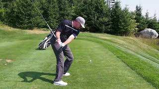David Perry's Golf Clinic - One Simple Tip to Shallow Out Your Driver Downswing