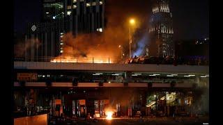香港现场直击 - 香港理工大学示威场面
