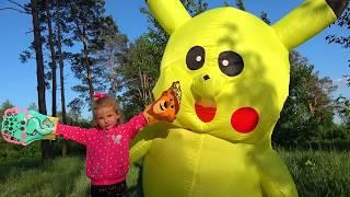 Milusik Lanusik plays Magic Liquids for Children