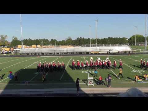 Mt. Pleasant Marching Band Invitational 2016
