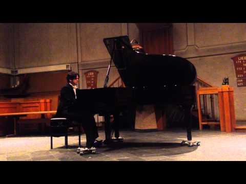 Luis Fabiano Rabello speelt Beethoven, 2e fragment, Rotterdam 9 december 2014, Doopsgezinde kerk