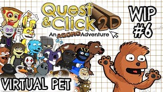 Quest & Click 2D -  Virtual Pet - Video 6 ( Tyranobuilder )