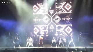 Janet Jackson 2019 2/10 japan tour Tokyo 日本武道館 Brun it up めち...