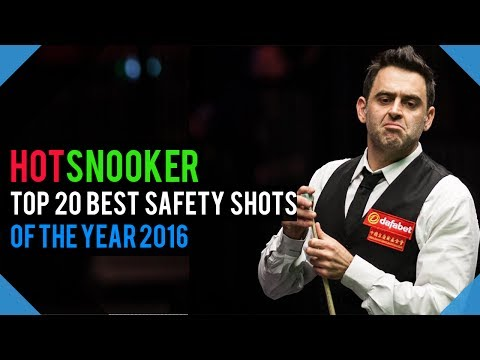 TOP 20 Best Safety Shots Of The Year 2016 - HotSnooker
