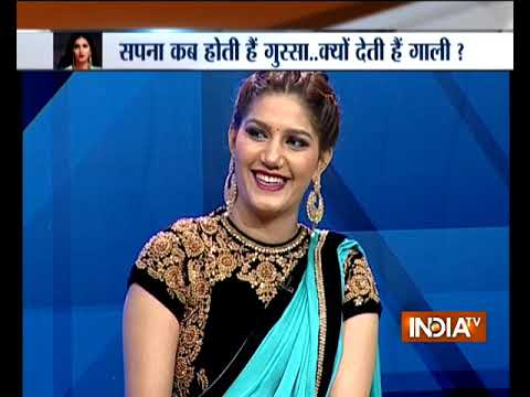Sapna Choudhary on India TV: The Haryanvi dancer talks about Salman Khan, Bigg Boss journey
