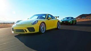 Porsche 911 Gt3 Vs Amg Gt R - Head 2 Head Preview Ep. 100