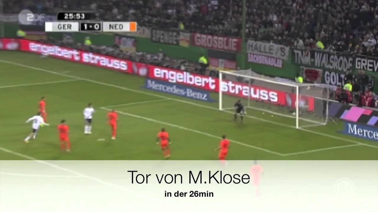 Deutschland gegen Niederlande 3:0 15/11/11 #1