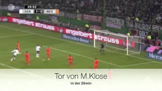 Deutschland gegen Niederlande 3:0 15/11/11