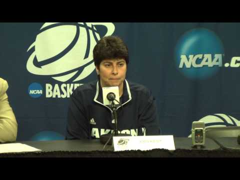 NCAA Women's Basketball Championship: Akron Zips Press Conference