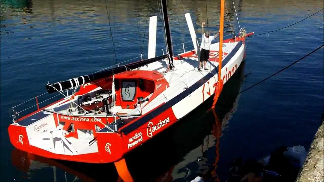 New Open 60 racing Yacht November 12, 2011 - YouTube