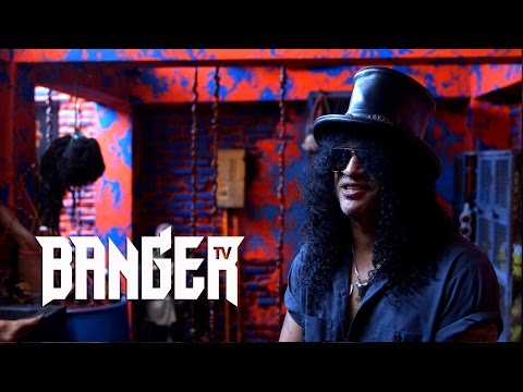 SLASH at Universal Studios in Hollywood | Sam Dunn's Metal Journeys