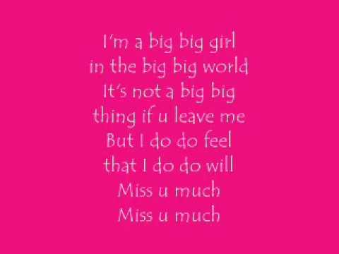 Big Big World - Emilia (lyrics)