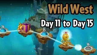 Plants vs Zombies 2 - Wild West Day 11 to Day 15