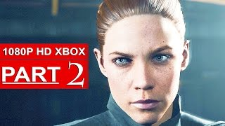 Quantum Break Gameplay Walkthrough Part 2 [1080p HD Xbox One] - No Commentary