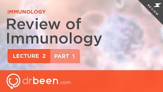 Immunology Lecture 2 Part 1
