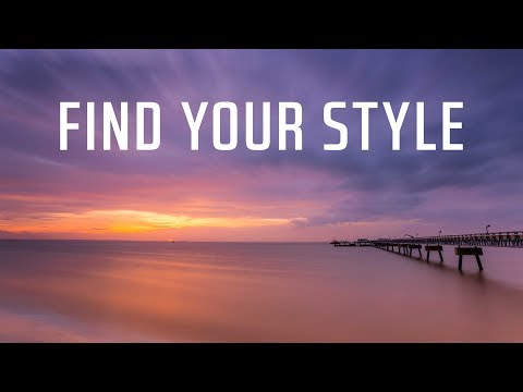How to FIND your landscape photography STYLE