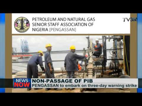 PENGASSAN to embark on strike over non passage of PIB