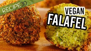 Falafel Recipe, crunchy outside fluffy inside  - Gluten free and vegan