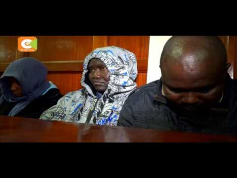 3 police officers linked to lawyer Kimani murder appear in court