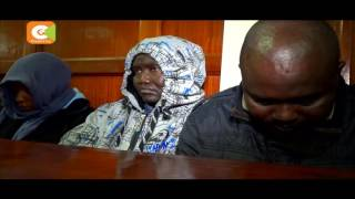 VIDEO: 3 police officers linked to lawyer Kimani murder appear in court