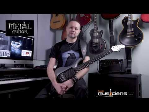 MUSIC MAN John Petrucci Majesty 7 - Mesa Boogie MarkV:25 - Metal Test