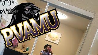 PVAMU Freshman Move In Day | Mini Vlog ft. Dorm Room Tour