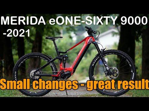 2021 Merida eOne-Sixty 9000 review - eMTB Videos
