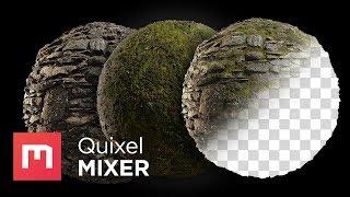 Handpainted Masking in Quixel Mixer