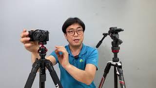 사진용 삼각대와 비디오 삼각대의 차이점