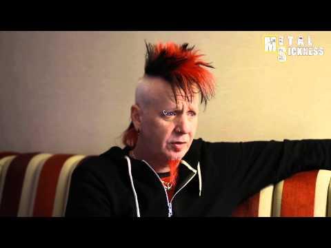 Hellyeah interview (Chad Gray) @ Paris (04/03/2014)
