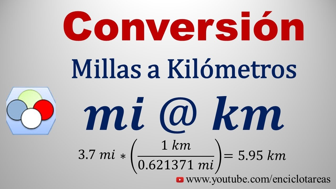cuanto es 1 kilometro en millas