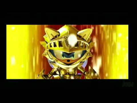 Sonic And The Black Knight New Trailer With Golden Armor Sonic Youtube