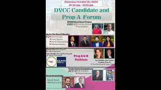 DVCC Candidate and Prop A&B  Forum