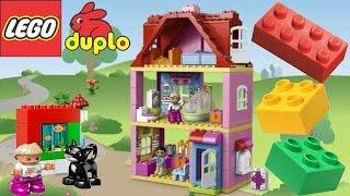 ✿ Lego мультик - Интересные игрушки для детей Кукольный домик Lego Duplo(Мультик Лего для малышей Строим кукольный домик Лего Дупло. Lego Duplo - это замечательный конструктор для детей..., 2014-12-08T08:00:02.000Z)