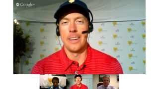 Presidents Cup Hangouts: Webb Simpson & Hunter Mahan